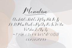 Monalisa // Script Calligraphy Product Image 2