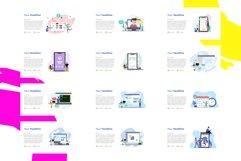 Update! Bundle 77 Pack Flat illustration PPT Product Image 3