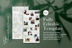 Instagram Puzze Template, Canva, Bloggers Instagram Grid Product Image 5