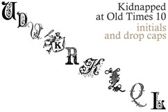 Kidnapped at Old Times 10 Product Image 1