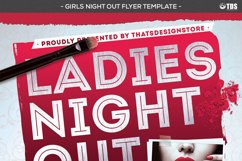 Girls Night Out Flyer Template Product Image 5