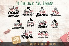 Christmas Quotes SVG Bundle Product Image 1