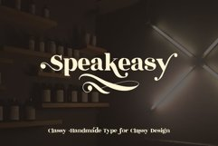Speakeasy | A Classy Serif Product Image 1