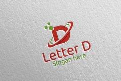 Letter D Digital Marketing Financial Logo 74 Product Image 4
