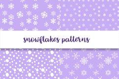 Christmas snowflakes Product Image 5
