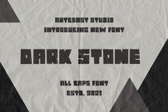 Dark Stone - Extra Bold Font Product Image 3
