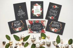 Holiday Greeting Cards and Clip Art Set Product Image 3