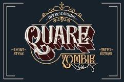 Quare Zombie - 4 font plus extras Product Image 1