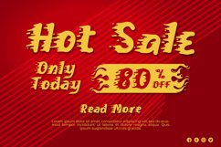On Fire - A Fun and Fiery Display Font Product Image 6