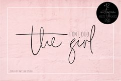The Girl Font Duo 12 Instagram Post Templates Product Image 1