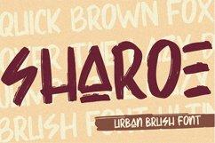 Sharoe - Brush Font Product Image 1