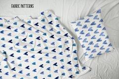 Indigo Blue Watercolor Patterns Product Image 3