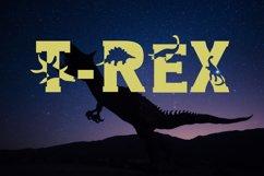 Dino World - Dinosaur Font Product Image 3
