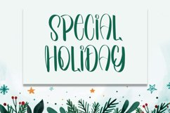 Welcome to Winter - Smart Handwritten Font Product Image 5