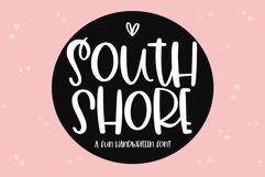 South Shore - A Quirky Handwritten Font Product Image 1