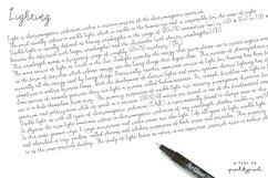 Lighting Script Font Product Image 2