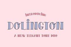 Dolington Font Duo Product Image 1
