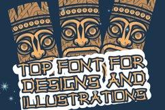 Hawaiian Tiki Island Font Product Image 3