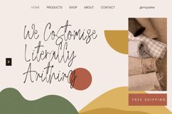 Miyoshe - The Natural Signature Font Product Image 4