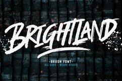 Brightland Brush Font Product Image 1