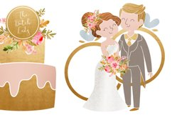 Wedding Day & Marriage Clipart Set Product Image 4