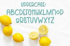 Lemons and Sugar- A Fun Hand-Written Mismatched Font Product Image 4