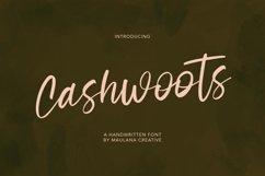 Cashwoots Handwritten Font Product Image 1