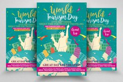 Happy World Tourism Day Flyer Template Product Image 1