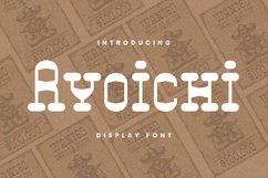 Ryoichi Font Product Image 1