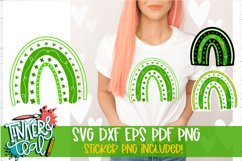 Clover Rainbow SVG With Sticker Formats Product Image 1