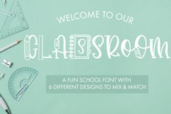 Classroom A Fun School Font With 6 Designs Product Image 1