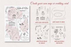 Hand drawn Wedding Map Creator Product Image 2