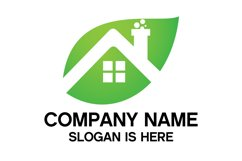 Eco House Logo Design Vector Product Image 2