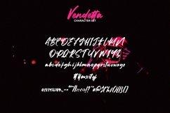 Web Font Vendetta - Brush Script Font Product Image 3