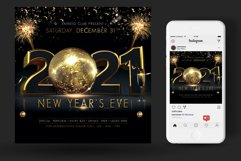 2021 New Year Flyer Product Image 2