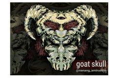 skull vector design Product Image 4