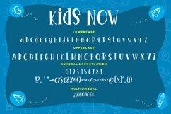 Kids Now Fun & Joyful Typeface Product Image 4
