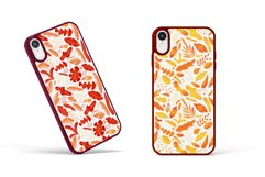 Textural abstract shapes and leaves Product Image 8