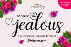 Jealous Script  Product Image 1