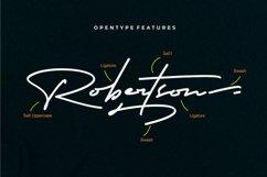 Robertson  Charming Signature Font Product Image 2
