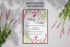 20 Watercolor Stamp Brushes for Procreate, Floral stamps Product Image 5