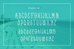 Web Font Beach Party Product Image 3