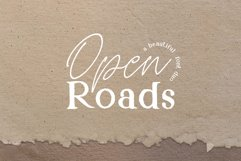 Open Roads Font Duo Product Image 1