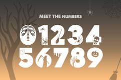 Trick or Treat Silhouette Font Product Image 2