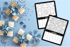 Mandala Christmas Coloring Calendar 2021 Product Image 2