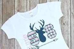 Deer Themed Little Sister Sibling Design Product Image 2
