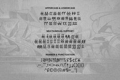 Web Font Graffiti Gang Font Product Image 5