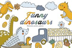 Funny dinosaurs Product Image 1