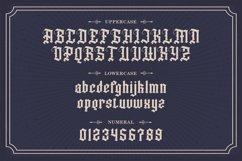 Dutch Brigade - Modern Blackletter Typeface Product Image 6