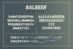 BALBEER FONT FAMILY BONUS Product Image 5